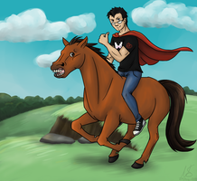 Fanart: Markiplier (Save the animals! BestFriend) by NothingSpecialx9