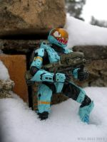 HALO EVA -SHARK FACE- with Spalaszer -Egli- by SurfTiki