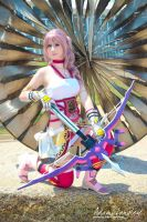 Serah Farron Cosplay by adami-langley