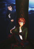 Simon and Isabelle (CONTAINS COHF SPOILERS) by allarica