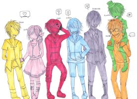 CaE: Lineup by digidestined4eva