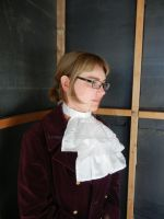 Miles Edgeworth  inspired jabot by FrockTarts