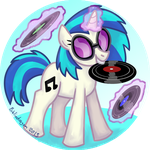 DJ Pon3 Badge by bibliodragon