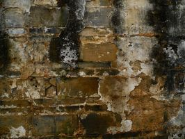 Broken brick wall 1 by Greyfaerie4