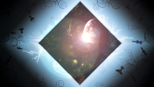 Space Frame (Wallpaper) by Hardii