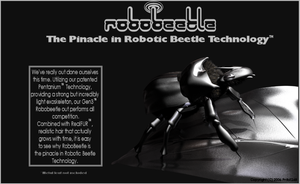 RoboBeetle Advert by pntbll248