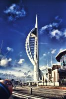 Spinnaker Tower by caie143