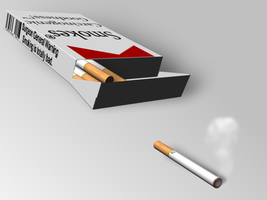 Cigarette Pack by Eulogy-Dignity