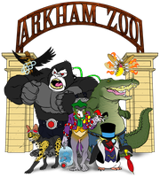 Arkham Zoo Skratch Jam by BloodySamoan
