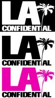 LA Confidential Logo Sampler 1 by Two-Players