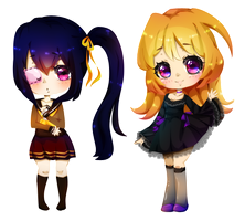 Giveaway Chibis Batch by Miielle