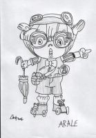 Arale by davybackfight