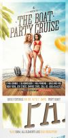 Yacht and Boat Party Flyer Template by saltshaker911
