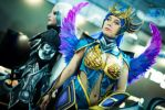 dark valkyrie diana by Daraya-crafts