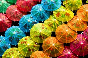 Umbrellas by b-r-ee-z-e