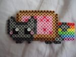 Mini Nyan Cat by PerlerHime