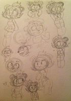 IW- A page full of pandas~ by SugarHIGH-cHAOS