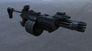 TKT XHM-4045CX Assault Rifle by Psycho4140