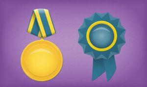 Medal and Badge by InterGrapher