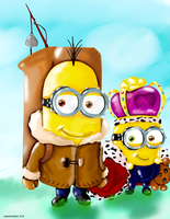King Bob and Kevin by HopeEvenMore