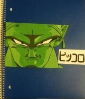 Piccolo Notebook by AGirlOfManyFandomsX