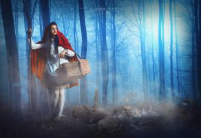 Red Riding Hood by dreamswoman