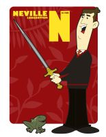 N is for Neville Longbottom by jksketch