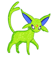 Shiny Espeon - #196 by RandomDrawerOfArt