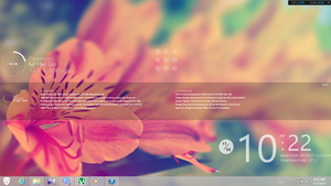 Rainmeter Layout #1 by JazlanHamdan