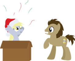 Have a Derpy Holiday! by SundownGlisten