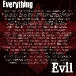 Everything Evil by Heretic17