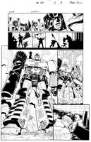 All Hail Megatron 1 p 9 inks by GuidoGuidi