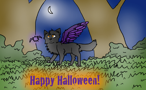 More Halloween by Inky-Wolf-Tracks