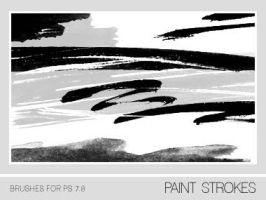 Paint Strokes Brushes PS 7.0 by Pfefferminzchen