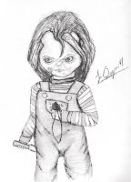 Chucky's final form in Child's play 1. 2 by Laquyn