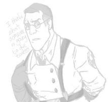 tf2-medic sketch by matelkirby