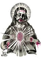 Zombiechrist Superstar - 2nd colorway by MetaMephisto