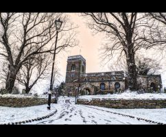 St Andrews Church in Great Billing, Northampton. by yatesmon