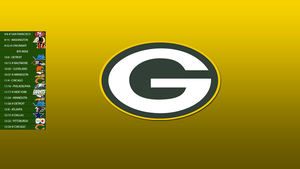 Green Bay Packers 2013 Schedule Wallpaper by SevenwithaT