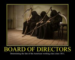 Board of Directors Motivational Poster by DaVinci41
