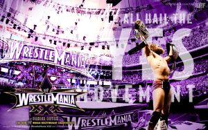 WrestleMania XXX - All Hail the Yes Movement by 2ndRules