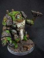 Salamander Contemptor Dreadnought by Solav