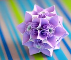 Butterfly Kusudama by OrangeMelon