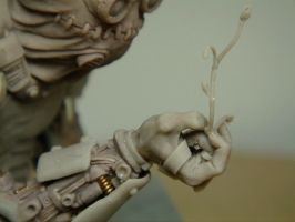 Barney - Hand detail 2 by The-Small