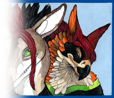 Collage gift for Scylla - Chalu's part by Chaluny