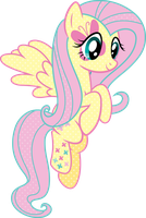 Cutie Mark Magic Fluttershy Vector by icantunloveyou