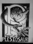 P is for Plesiosaur by Figure-of-speech
