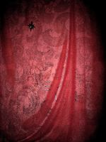 Red Curtain BG by SariennStock