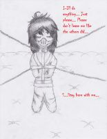 Request - Don't leave me - Jeff the Killer art #4 by LovePegacorn