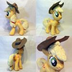 Apple Jack 2.0 Plush by TheGrillosLab